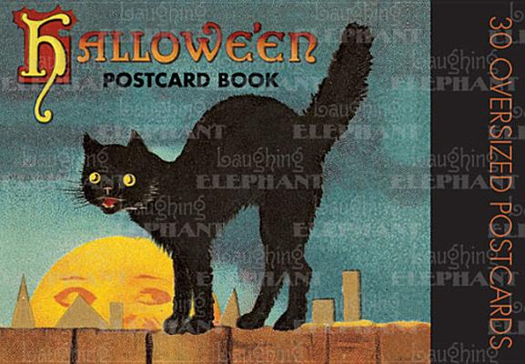 Image for Halloween Postcard Book