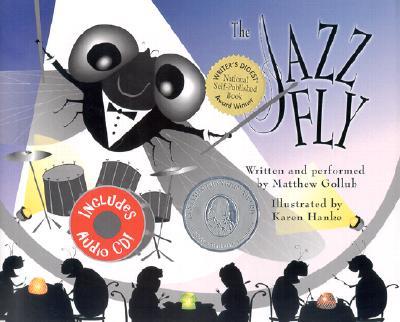 The Jazz Fly (book w/ audio CD), Gollub, Matthew