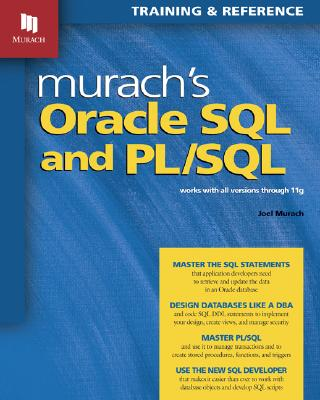 Murach's Oracle SQL And PL/SQL, Murach, Joel