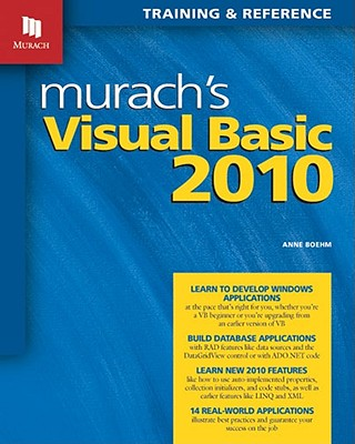 Image for Murach's Visual Basic 2010