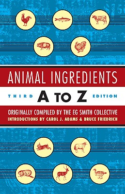 Image for Animal Ingredients A to Z: Third Edition