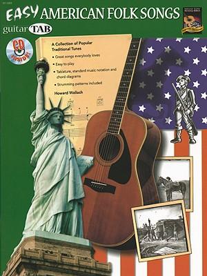 Image for Easy American Folk Songs  Guitar TAB (Book & CD)