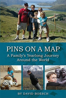 Image for Pins on a Map: A Family's Yearlong Journey Around the World