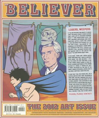 The Believer, Issue 94: The Art Issue
