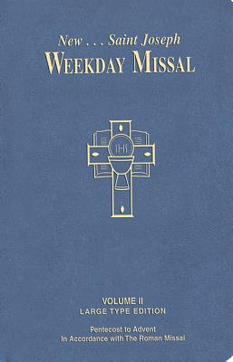St. Joseph Weekday Missal Volume II: Large type