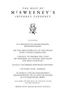 Image for The Best of McSweeney's Internet Tendency