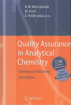 Quality Assurance in Analytical Chemistry: Training and Teaching