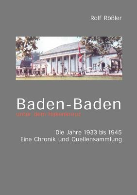 Image for Baden-Baden unter dem Hakenkreuz (German Edition)