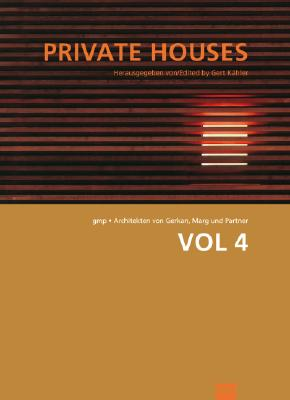 Image for GMP: Volumes Volume 4 Private Houses (Gmp : Architekten Von Gerkan, Marg Und Partner)
