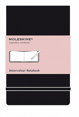 Image for Moleskine Watercolor Album Sketchbook - 5'x8' Sketch Pad for Drawing, Watercolor Painting, Sketchbook for Teens, Artists, Students