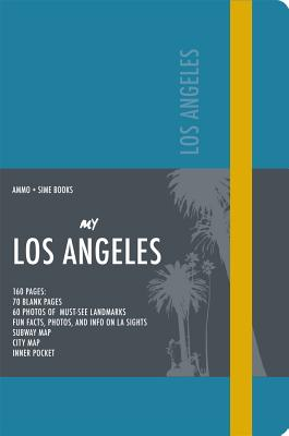 Los Angeles Visual Notebook: Teal Blue