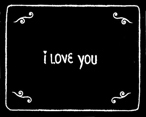 I Love You: A Flip Book By Santiago Melazzini