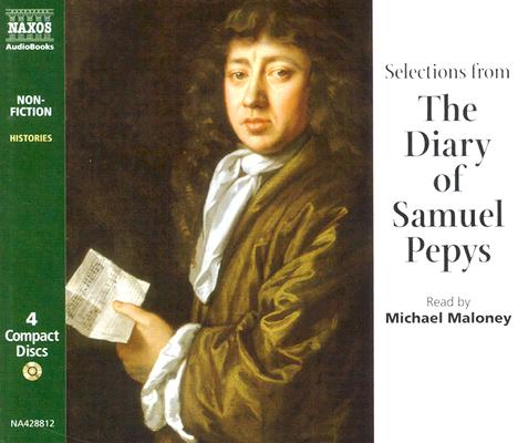 Image for Selections from The Diary of Samuel Pepys 4 CD's