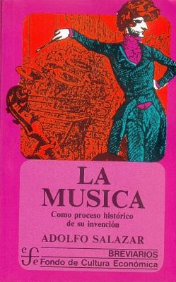 Image for La Musica: Com proceso historico de su invencion
