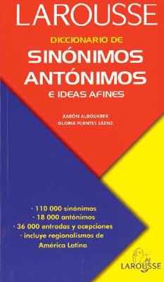 Image for Diccionario de sinnimos, antnimos, e ideas afines (Spanish Edition)